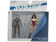 DC Collectibles DC Comics The New 52 Wonder Woman vs. Katana Action Figure, 2-Pack 9SIV1976T49723