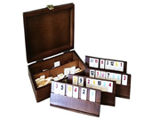 RUMMY Game Set with Wooden Carrying Case 9SIA10555S3007