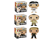 Funko The Karate Kid POP! Movies Collectors Set: Daniel Larusso, Mr. Miyagi, Johnny Lawrence Action Figure 9SIA10555R4378