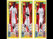 Match Attax England World Cup 2014 Ghana Base Card Team Set (3 Cards) 9SIA10555R5970