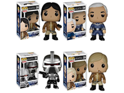 Battlestar Galactica Classic Cylon Centurion, Capt. Apollo, Commander Adama and Lt. Starbuck Pop! Vinyl Figures Set of 4 9SIA10555R4913