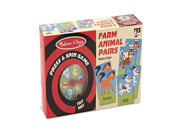 Melissa & Doug Press and Spin Game: Farm Animal Pairs 9SIA10555R6511