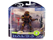 Halo 3 Mcfarlane Toys Series 3 Exclusive Action Figure Brown Spartan Soldier ODST (Battle Rifle and Grenade) 9SIA10555R4794