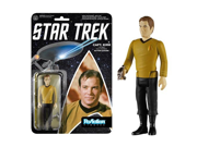 Star Trek Captain Kirk ReAction 3 3/4-Inch Retro Action Figure 9SIA10555S4479