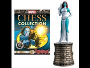 Marvel X-Men Mystique Black Bishop Chess Piece with Magazine 9SIA10555S7486