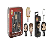 Game of Thrones 3 pk Mini Funko Figure Set and Jon Snow Pop Keychain Bundle 9SIA10555R4998