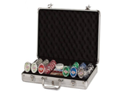 Poker Set In Aluminum Case With 300 (11.5 Gram) Las Vegas Style Chips 9SIA17P5TG2222