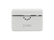Cellet Universal Mini External Power Bank 2800mAh Battery Charger - White 9SIA10555Z8274