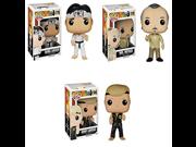 Karate Kid Mr. Miyagi, Daniel LaRusso and Johnny Lawrence Pop! Vinyl Figures Set of 3 9SIA10555R4909