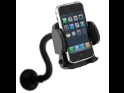 Fosmon Goose Neck Car Mount Winshield Suction Cellphone Holder for the HTC EVO 4G LTE / ONE - Black 9SIA10555Z9962