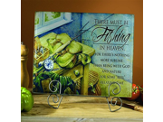 Abbey Press Fishing Cutting Board Décor Inspirational Religious Gifts 52705 ABBEY