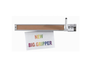 2 Display Rail with Paper Gripper Size 2 H x 48 W