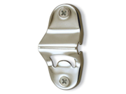 4 Inch Silver Tone Wall-Mounted Bottle Opener Fits Just About Anywhere