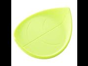Rittai - Salad Green Silicone Leaf Shaped Cup Coaster 9SIA10556H7172