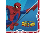 Spectacular Spider Man Party Dessert Napkins 16 Pack 9SIA1056M44206
