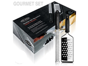 Microplane Gourmet Grater Set Zester and Extra Course Grater