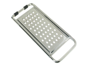 Stainless Steel Grater with Heavy Gauge Wire Frame 11 1 2 x 5