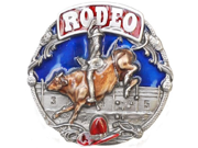 Rodeo Bullrider Belt Buckle