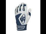 Louisville Slugger Series 7 Youth Batting Glove Navy Large