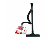 Daewoo RCC-11C 1.5L /1600W Canister Vacuum Cleaner, Red/White