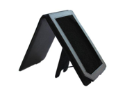 Ace trademark Black Leather Case Cover with Stand for Barnes and Noble Nookcolor Nook Color Ebook Reader
