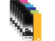 BAZIC C R 100 Ct.1 Subject Poly Cover Spiral Notebook Case Pack 24