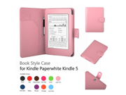 Elsse Premium Case For Amazon Kindle Paperwhite and All New Kindle Paperwhite Styli NOT included Support Smart Cover Function Paperwhite Light Pink