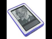 Fosmon Barnes and Noble nook E Reader Book TPU Protective Skin Case Purple