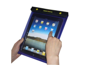 TrendyDigital WaterGuard Plus Waterproof Case for Apple iPad with Padding Purple Border