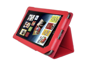 AGPtek® New Stand Cover Case for Barnes and Noble Nook Color Nook Tablet Red Color
