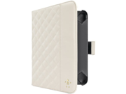 Belkin Quilted Cover w Stand for Kindle Fire HD 7 Cream