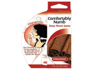 Comfortably numb deep throat spray cinnamon Pack Of 2