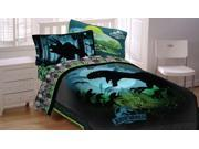 Jurassic World Twin-Full Comforter Biggest Growl Dino Bed 9SIA2X15VU2877