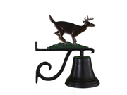 Montague Metal Products Cast Bell with Color Buck