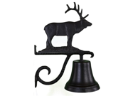 Montague Metal Products Cast Bell with Black Elk