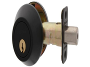 MaxGrade 60010BKW Single Cylinder Deadbolt Oil Rubbed Bronze