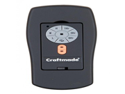 Craftmade ICS Control System Flat Black Finish Model ICS2 Remote