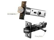 Baldwin 5510.038 Interior Passage Latch with 2 3 8 Inch Backset Aged Brass