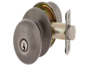 MaxGrade 300WAT15A Watson Keyed Entry Door Knob Lockset Antique Nickel