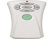 Quorum 8 1401 3 Speed Reversible and Light Dimming Remote with Climate Control Off White