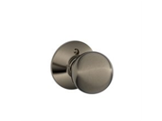 Schlage F170 ORB 620 Antique Pewter Lifetime Finish Dummy Orbit Style Knob