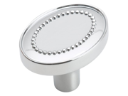 Amerock BP2613326 Opulence Knob Polished Chrome 1 3 8 Inch Diameter