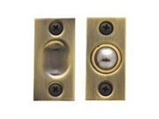 Baldwin Hardware 0425.003 Adjustable Brass Ball Catch Latch