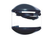 Fibre-Metal by Honeywell High Performance Model F400 Clear Propionate Dual Crown Faceshield System With Window, Clear Chin Guard And Speedy Mounting Loop System 9SIA10557K2805