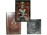 Assassins Creed Unity Exclusive Limited Edition Steelbook Case Art Book and Original Soundtrack Cd