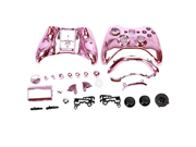 Generic Full Controller Shell Case Housing Compatible for Microsoft Xbox 360 Wireless Controller Color Pink