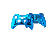Generic Full Controller Shell Case Housing Compatible for Microsoft Xbox 360 Wireless Controller Color Light Blue
