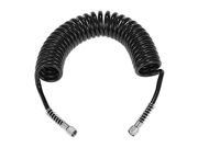 """KKmoon Professional 3m(10) PU Spring Coil Airbrush Air Hose with Standard 1/8"""""""" Size Fittings on Both Ends"""" 9SIA10557X4866"""