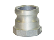 Apache 50400000 Part A Male Cam and Groove Adapter, Aluminum, 1.5