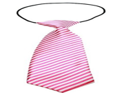Mirage Pet Products 46 21 Striped Pink Big Dog Neck Tie Large